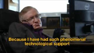 Download Stephen Hawkings, video message for the UNESCO New Delhi Conference 2014 (English subtitles) Video
