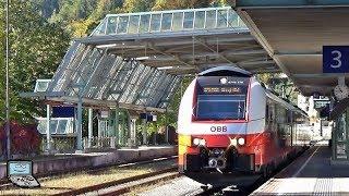 Download Zell am See mit cityjet, CityShuttle +1144, ÖBB Talent, Pinzgauer Lokalbahn, Güterzug Video