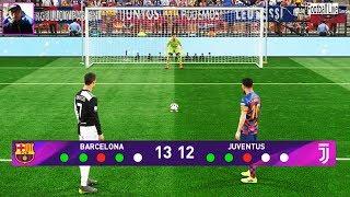 Download Penalty Shootout   FC Barcelona vs Juventus   L.Messi vs C.Ronaldo   Pro Evolution Soccer 2019 Video