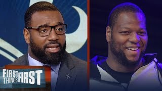 Download Chris Canty reacts to Ndamukong Suh signing with the Los Angeles Rams | FIRST THINGS FIRST Video