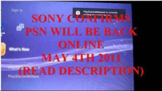 Download (NEW) Sony's PlayStation Network, Qriocity Close to Returning Video