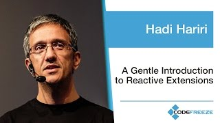 Download Hadi Hariri — A Gentle Introduction to Reactive Extensions Video