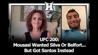 Download UFC 200: Gegard Mousasi Wanted Silva Or Belfort... But Got Thiago Santos Instead Video