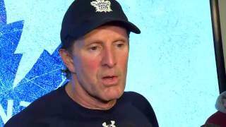 Download Maple Leafs Practice: Mike Babcock - December 6, 2016 Video