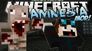 Download Minecraft | AMNESIA MOD! (Horror, Jumpscares & Evil Monsters!) | Mod Showcase Video