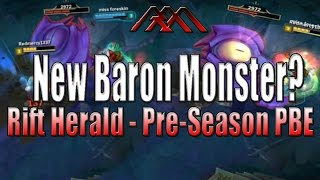 Download New Mini-Baron Monster - Rift Herald - PBE Pre-Season - League of Legends Video