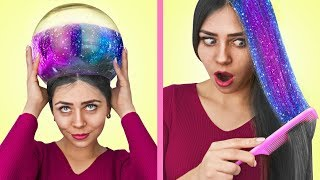 Download 13 Easy Hairstyles And Hair Hacks! Video