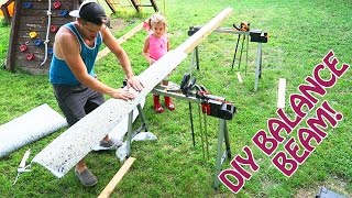 Download How to Make a STRONG Balance Beam for Your Little Gymnasts FOR CHEAP Video