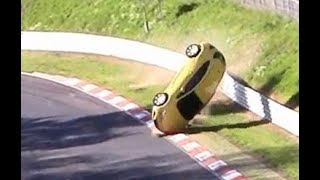 Download Heavy Roll Over Crash Opel Astra Nordschleife Nürburgring Touristenfahrten Video