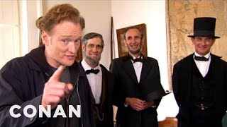 Download Conan Visits Abraham Lincoln Presidential Museum - CONAN on TBS Video