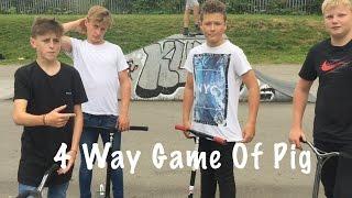 Download 4 Way Game Of Pig!! Super Fat Vs Super Skinny!! Video