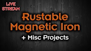 Download Testing Magnetic Iron Filament + Working On Some Projects Video