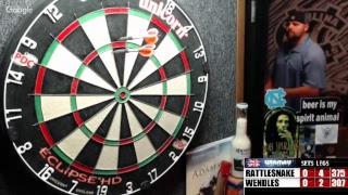 Download Rattlesnake vs Wendles -WDA darts Video
