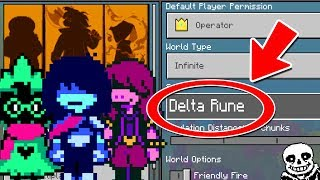 Download NEVER Play Minecraft DELTA RUNE WORLD! (Haunted ″Deltarune Sans″ Seed) Video