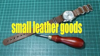 Download making a simple leather watch strap Video
