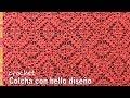 Download Colcha con bello diseño tejida a crochet - Tejiendo Perú Video