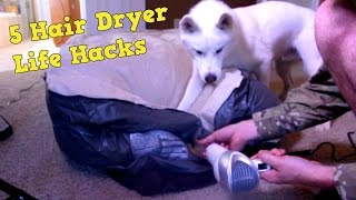 Download 5 Hair Dryer Life Hacks Video