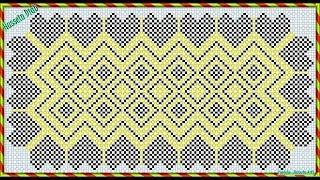Download كوليكشن باترونات خرز مفرش القلوب حسين دياب | Patterns beads of hearts Mattress Hussein Diab Video