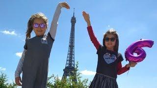 Download Γενέθλια της Άρτεμης στο Παρίσι 🎂🎉 ! Μέρος 1 ή birthday party for Artemi in Paris Video