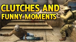 Download CSGO Clutches and Funny Moments Part 1 Video