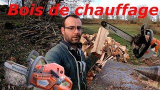 Download Je fait du bois de chauffage & présentation du matériel utilisé N° 44 Video