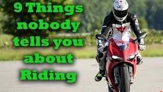 Download 9 Things Nobody tells you about Riding Motorcycles Video
