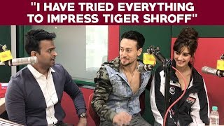 "Download Disha Patani says ""I have tried everything to impress Tiger Shroff"" Video"