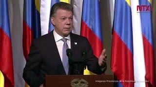 Download Presidente Santos ofrece garantías a las FARC como partido político Video
