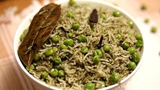 Download Peas Pulao | Matar Pulao – Veg Pulao Recipe | Divine Taste With Anushruti Video