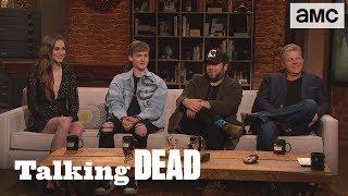 Download 'Similarities Between Michonne & Luke's Groups' Fan Questions Ep. 907 | Talking Dead Video