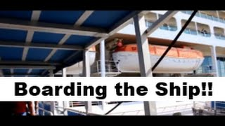 Download Driving to Port Canaveral & Boarding the Ship! Enchantment of the Seas CRUISE VLOG ep. 2 Video