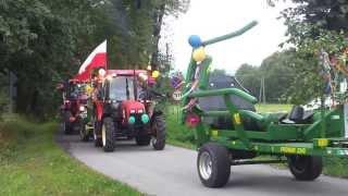 Download Dożynki gminy Dębowiec 2013 - przejazd korowodu przez Simoradz Video