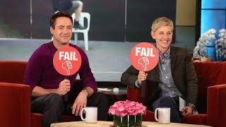 Download Epic or Fail with Robert Downey Jr. Video