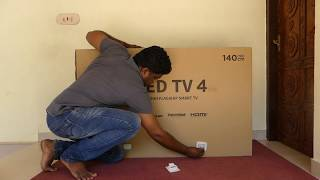 Download Xiaomi Mi TV 4 (55 inch 4K HDR TV) Unboxing Worlds Thinnest LED TV Video
