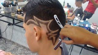 Download Geazi Barbeiro - Corte de Cabelo Masculino - Desenho com Pigmentação Video