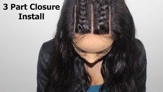 Download How To Install A 3 Part Closure + Braid Pattern Video