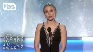 Download Kristen Bell: Opening Monologue | 24th Annual SAG Awards | TBS Video