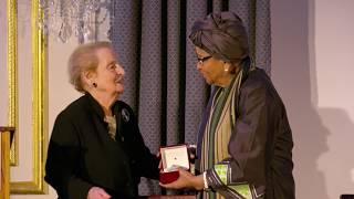 Download Sixth Annual Madeleine K. Albright Global Development Lecture: Ellen Johnson Sirleaf Video