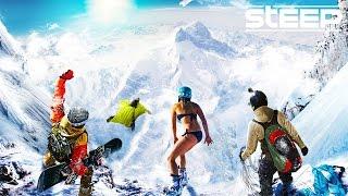 Download STEEP: TEAM GO PRO!! - Steep Wingsuit, Skying & Snowboarding - Steep Multiplayer Gameplay Video