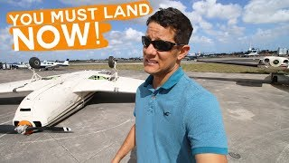 Download Flying from Fort Lauderdale to Miami Found an Airplane upside down at the Airport Video