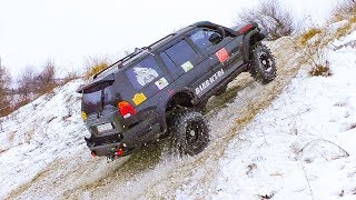 Download Mitsubishi Pajero Sport vs Toyota LC80 vs УАЗ vs Нива [Off-Road 4x4] Video