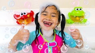 Download Bath Song | Jannie Pretend Play Nursery Rhymes & Kids Songs - Toys and Colors Video