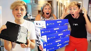 Download DESTROYING MORGZ PS4 & BUYING HIM 100 NEW ONES... ($10,000) Video
