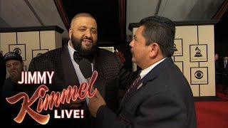 Download Guillermo at the 58th Annual Grammy Awards Video