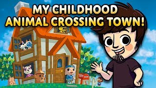 Download Visiting my Original Childhood Animal Crossing Town! Video