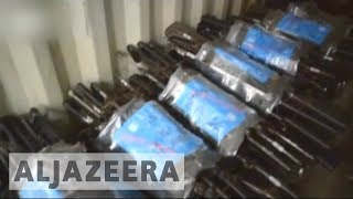 Download Colombia declares peace with FARC as weapons handed over Video