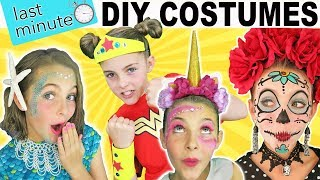 Download Last Minute DIY Halloween Costumes | Mermaid Unicorn Wonder Woman | Kids Cooking and Crafts Video