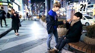 Download 구경하던 강남 남학생이 달려와 방탄소년단(BTS) '봄날'을 불렀는데 소름끼침 ㄷㄷ Video