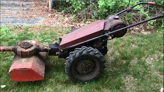 Download 1957 Gravely L SR GRW Rotary Cultivator Video