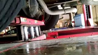 Download Vibration from a bad tire, car is shaking while driving Video